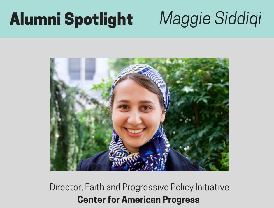 Maggie Siddiqi Spotlight