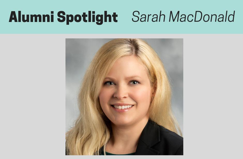 MacDonald, NPMCert Alumni Spotlight