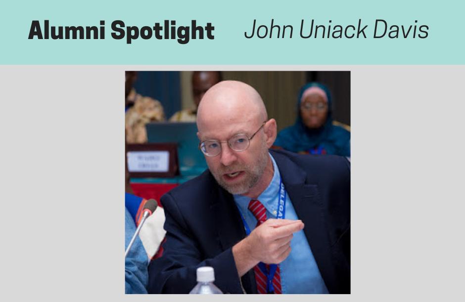 John Davis 1, NPMCert Alumni Spotlight