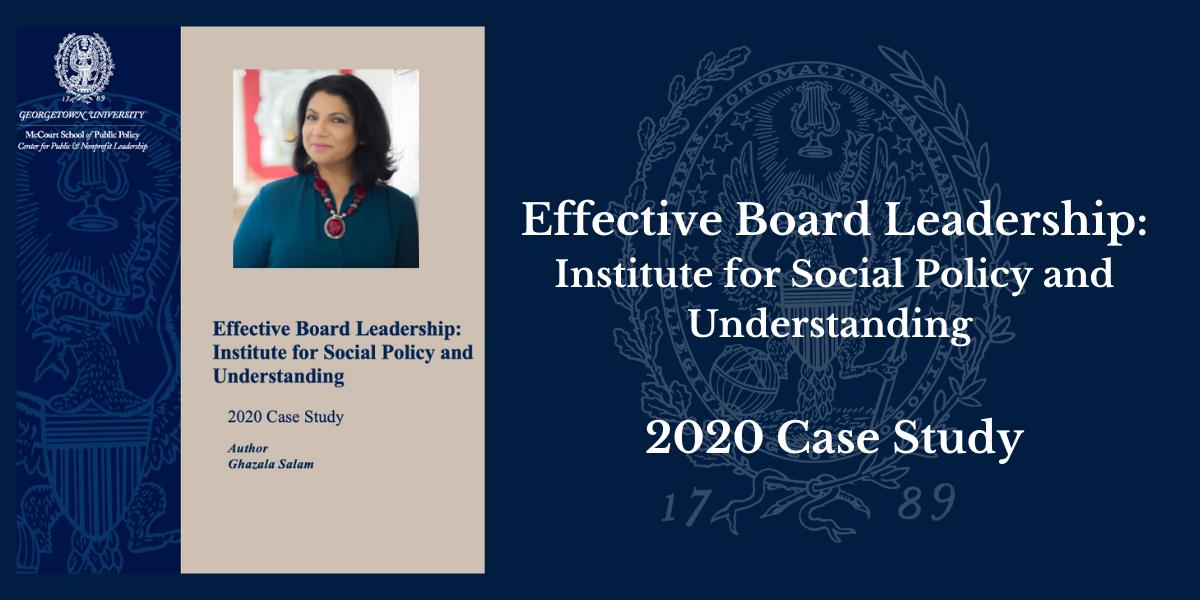 ISPU 2020 Case Study