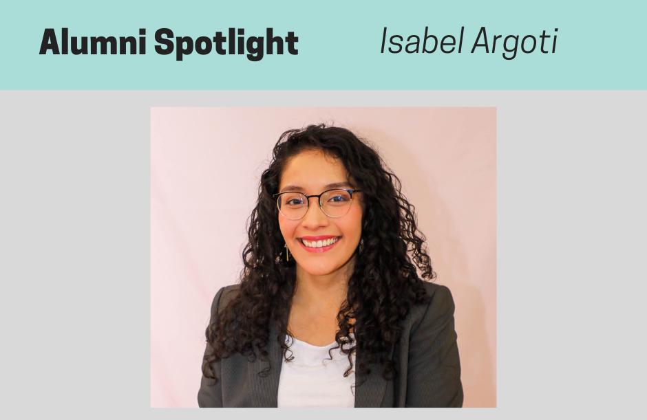 Isabel Argoti, NPMCert Alumni Spotlight
